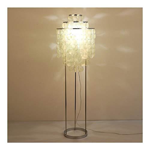 LED Shell Floor Lamp, Warm verduisteren Woonkamer Slaapkamer Modern Minimalist Nordic IKEA Hotel Creative Floor Lamp