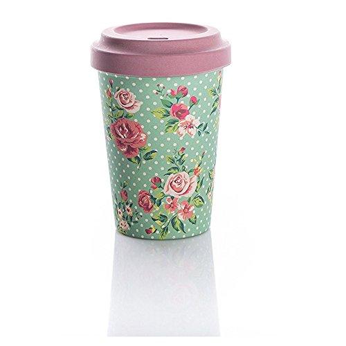 Coffe to go gobelet en bambou avec couvercle \