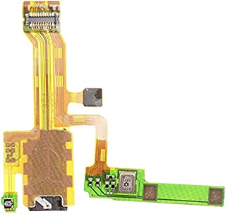 NGAU Cell Phone Replacement Parts Repair Replacement Part for Sony Earphone Jack Flex Cable for Sony Xperia ZL / L35h / C6503 / C6502 / C6506 / LT35 / L35