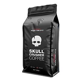 Skull Crusher Coffee – High Caffeine Coffee – Ground – 500g – World's Strongest Coffee