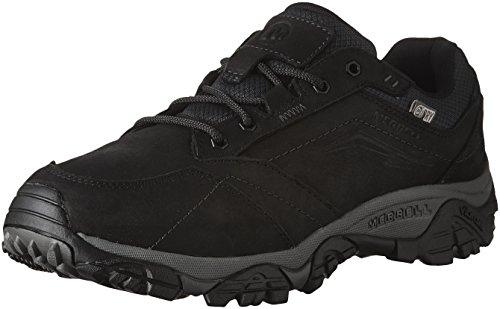 Merrell Men's Moab Adventure Lace Waterproof Hiking Shoe, Black, 10 M US