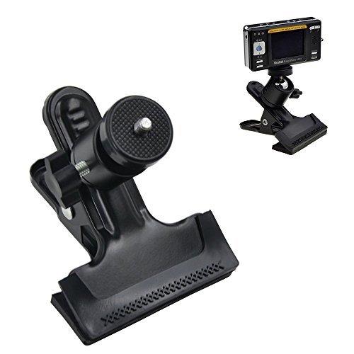 """Racksoy Kompakt Stativschelle Montage Klammer Kamera Blitz Halterung mit 1/4\"""" Gewinde Kugelkopf 360 Grad Verstellbar für GoPro Hero, Studio-Hintergrund Kamera, Blitzgeräte Speedlite SLR DSLR usw."""