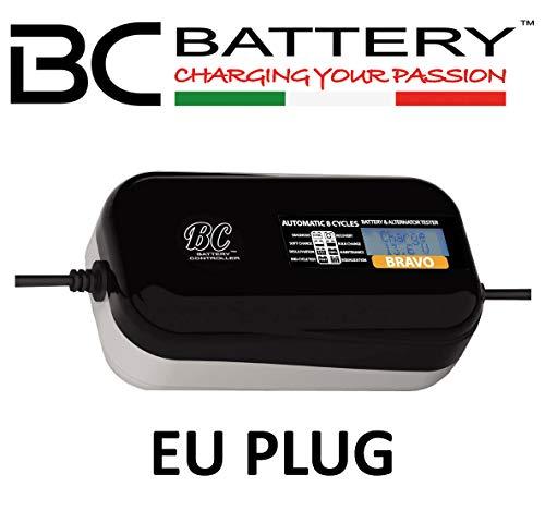 BC BRAVO 1500 - Caricabatteria/Mantenitore + Tester batteria e alternatore 1,5 AMP