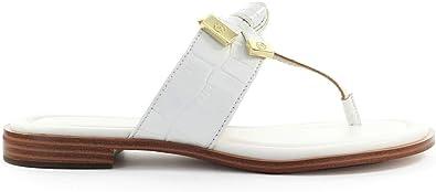 Zapatos de Mujer Sandalia Chancla Ripley Blanca Michael Kors SS2020