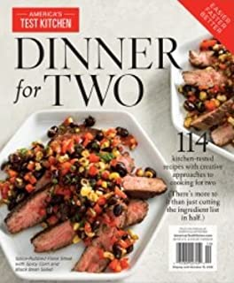 America's Test Kitchen Special Issue: Dinner for Two Magazine (2018): Special Collector's Edition