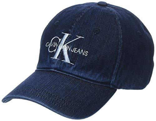 Calvin Klein J Monogram Cap W Gorra de béisbol, Azul (Denim 910), (Talla del Fabricante: OS) para Mujer