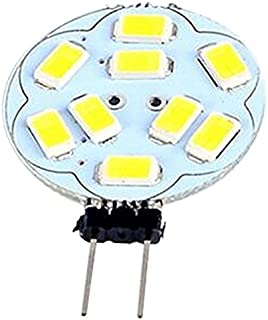 TOOGOO(R) 3W G4 9LED Bulbs,SMD5730 AC/DC 10-30V