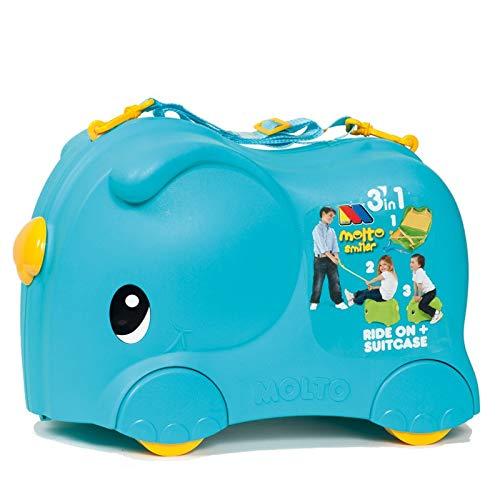 Maleta Infantil Molto Smiler (Maleta Azul)