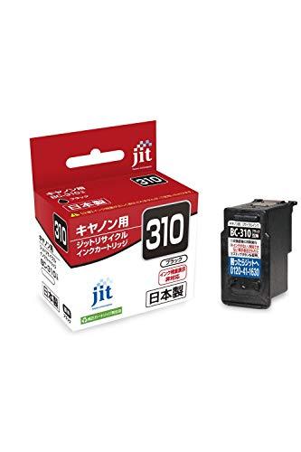【Amazon.co.jp 限定】ご使用前に必ず取扱説明書をご確認ください ジット 日本製 プリンター本体保証 キヤノン(Canon)対応 リサイクル インクカートリッジ BC-310 ブラック対応 JIT-NC310BN