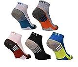 BestSale247 12 Paar Herren Sneaker Socken Füßlinge Baumwolle (12 Paar | Farbmix, 39-42)