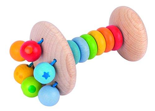 Heimess Greifling/Rassel (Regenbogenfarben)