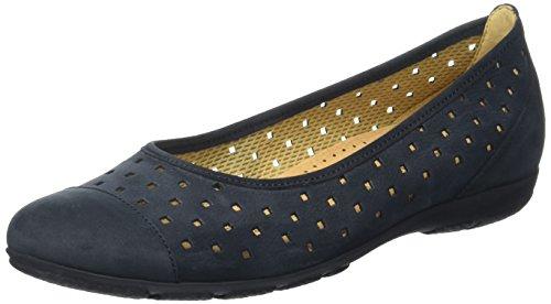 Gabor Shoes Fashion, Ballerines Femme, Bleu (Nightblue 16), 39 EU