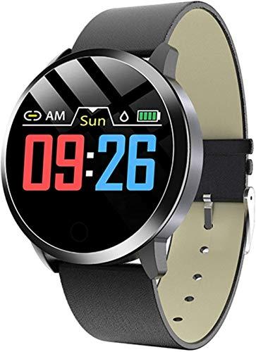 Reloj Inteligente Q8 Plus Pantalla de Color Reloj Inteligente Señoras Moda Fitness Tracker Monitor Pulsera para Ios Android-D.