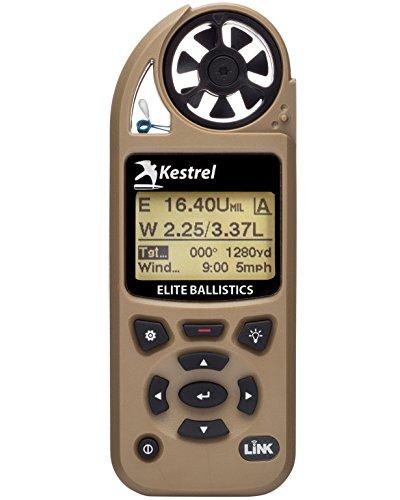 Kestrel Elite Wetter Meter sowie Waffe und, mit Bluetooth Link Einheitsgröße hautfarben