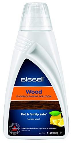 Bissell 1788L Wood Floor Reinigungsmittel für Spinwave/Crosswave/Crosswave Pet Pro und andere Hartboden-Reinigungsgeräte, auch für versiegelte Holzböden geeignet, 1 x 1 L