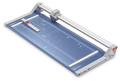 Dahle 554 Papierschneider Modell 2020 (bis DIN A2, 20 Blatt Schneidleistung, 2 mm Schnitthöhe) blau
