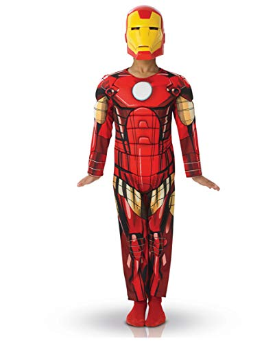 Horror-Shop Iron Man Kinderkostüm Deluxe M (5-6)
