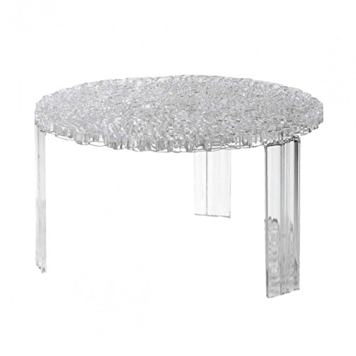Kartell - 8500B4 - T-table, cristal (Transparent)