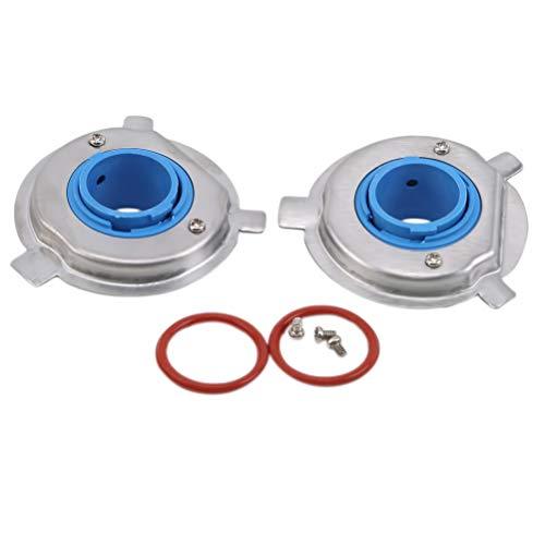 JIFNCR - Base de lámpara LED para coche (base de LED, 880, 9006, HB4, 9005, HB3, H11, H8, H7, H4, H3, H1, H1, H4, H4, H1, base LED azul H4