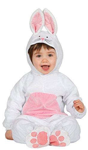 Guirca- Disfraz conejito baby, Talla 6-12 Meses (85981.0)