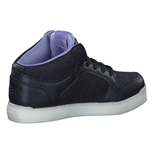 Skechers Mädchen Energy Lights Hohe Sneaker, Blau - 7