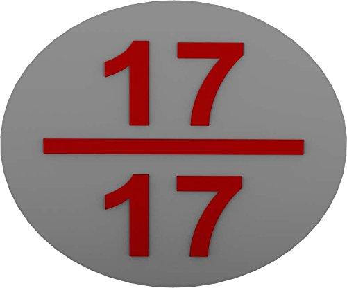 RZB Zimmermann Bezeichnungsschild 99350-013 (VE12) ws-rt f.Stromkreis Kennzeichnungsmaterial 4010319155380