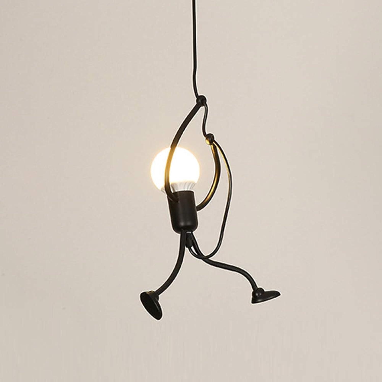 Pendelleuchte Nordic E27 Lampe Schwarz Metall Moderne gm76bfvIYy
