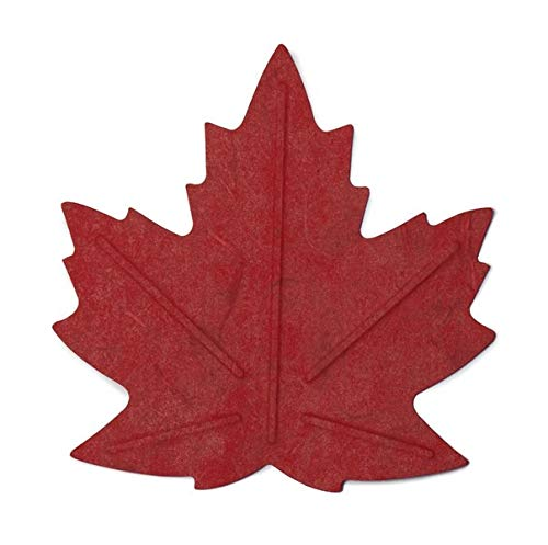 Flexible Hanji-Papierschale Ahornblatt Rot – Ablage / Servierschale aus traditionellem Hanji-Papier: Leicht, formbar und wasserabweisend
