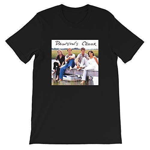 Marble LLC Dawsons-Creek cast Dawson-Leery Joey-Potter Pacey-Witter 90s tv Teen Drama Funny Gift for Men Women Girls Unisex T-Shirt (Black-3XL)