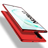 X-level Funda para Samsung Galaxy Note 10, Carcasa para Samsung Galaxy Note 10 Suave TPU Gel Silicona Ultra Fina Anti-Arañazos y Protección a Bordes Funda Phone Case para Galaxy Note 10 - Rojo