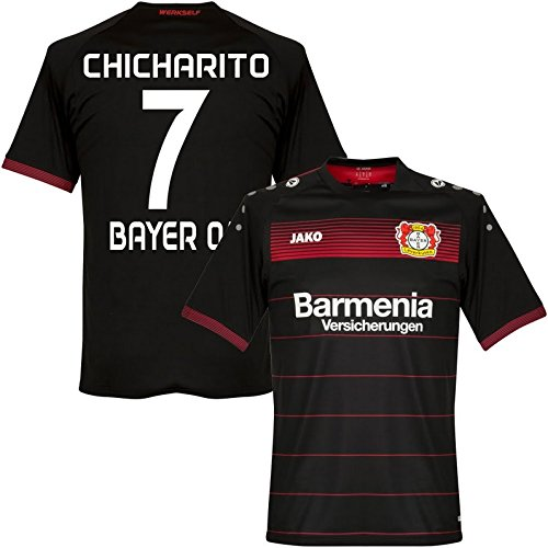 JAKO Trikot Bayer 04 Leverkusen 2016-2017 Home (Chicharito 7, 5-164)