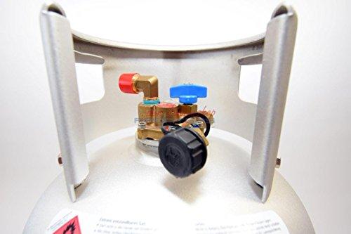 Alugas Autogas Tankflasche 14KG 36 Liter Wiederbefüllbar