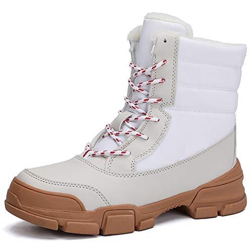 Botas Nieve Mujer Invierno Trekking Mujer Botines Calentar Forro Calzado Planas Otoño Martin Zapatos Antideslizantes Deportes