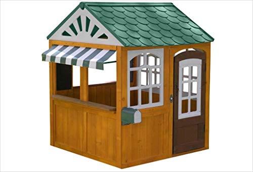KidKraft 405 Casita de juegos para jardín y exterior al aire libre de madera para niños Garden...