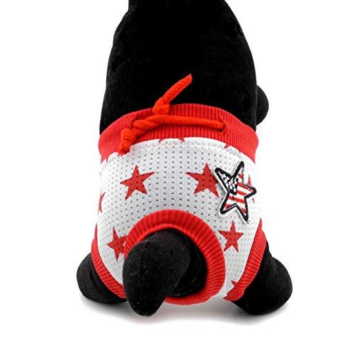 Shiningbaby Hund Windeln Sanitär Pantie Unterhose Haustier Bauchbänder für Small Medium Large Pet