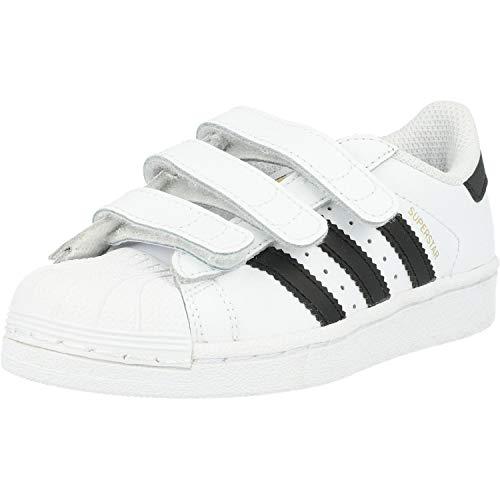 adidas Superstar CF C, Zapatillas Unisex Niños, Blanco (Footwear White/Core Black/Footwear White 0), 28.5 EU