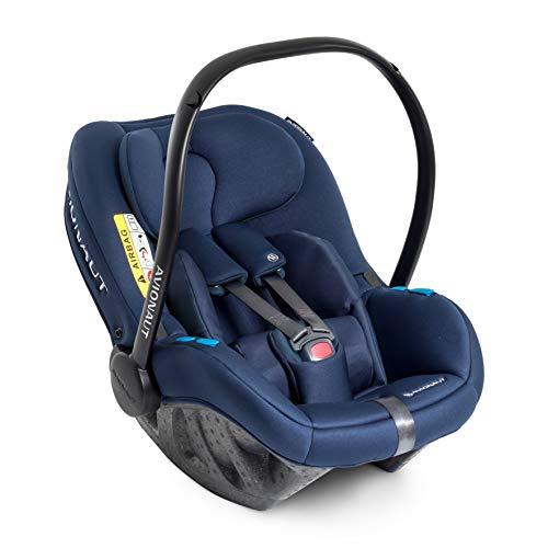 Avionaut Pixel Babyschale, der weltweit leichteste Kindersitz, Baby-Autositz Gruppe 0+ (0-13 kg, 40 cm - 86 cm), nutzbar ab der Geburt bis ca. 12 Monate, Istanbul Navy