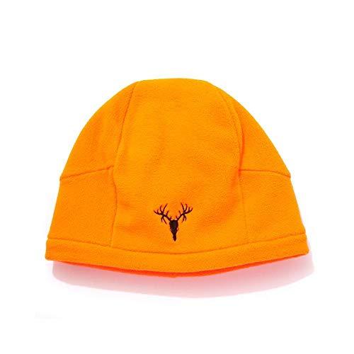 HOT SHOT Bonnet en Polaire pour Homme Motif Camouflage Taille Unique Orange (Blaze)