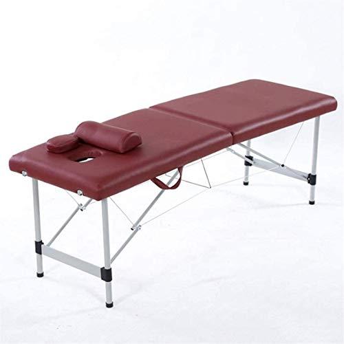 FTFTO Haushaltsprodukte Salon Massagequalität Massivholz Beauty Bed Aluminium...