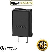 Mysail Micro USB Turbo Power 3.0 Ampere 25 W Mobile Adaptor - Black