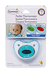 Pacifier thermometer as a practical push prsent gift idea