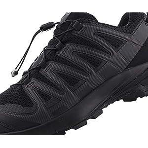 Salomon mens Xa Pro 3d V8 Trail Running, Black/Black/Black, 9.5 US