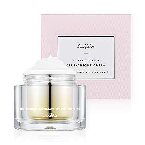 Dr.Althea Power Brightening Glutathione Cream - Natural Lightening Face Moisturizer for Even Toned Skin