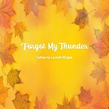 Forgot My Thunder