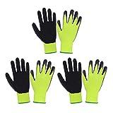 3 pares de guantes de jardinería para niños de 2 a 13 años, guantes de jardín con...