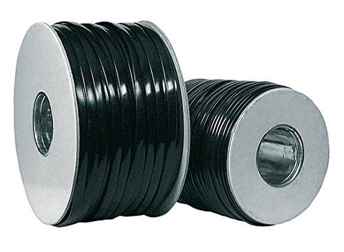 TPFNet Modular-Kabel Telefon Kabel Flach 4-polig Belegt, AWG 28, Schwarz, 100m