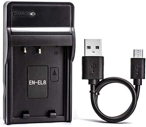 EN EL8 USB Charger for Nikon Coolpix S52c P1 P2 S1 S2 S3 S5 S50 S50c S51 S51c S52 S6 S7 S7c product image
