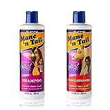 Mane 'n Tail Spirit Untamed SET 11.02oz Caramel Apple Scented Everyday Gentle Shampoo & Conditioner Coconut Oil Formula (Shampoo +Conditioner 11.02oz)