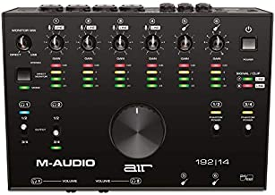 M-Audio AIR 192|14 - 8-In 4-Out USB Audio / MIDI Interface with Recording Software from Pro-Tools & Ableton Live, Plus Studio-Grade FX & Instruments