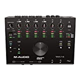 M-Audio AIR 192|14 Interfaz de audio MIDI, USB y USB-C con 8 entradas, 4 salidas, software de estudio, ProTools|First, Ableton Live Lite, Eleven Lite y colección de efectos de Avid y AIR Music Tech